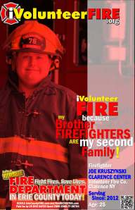 "iVolunteerFIRE leverages the power of referral of today's generation of firefighters. Folks like ""Average Joe"" Kruszynski of the Clarence Center Volunteer Fire Company."